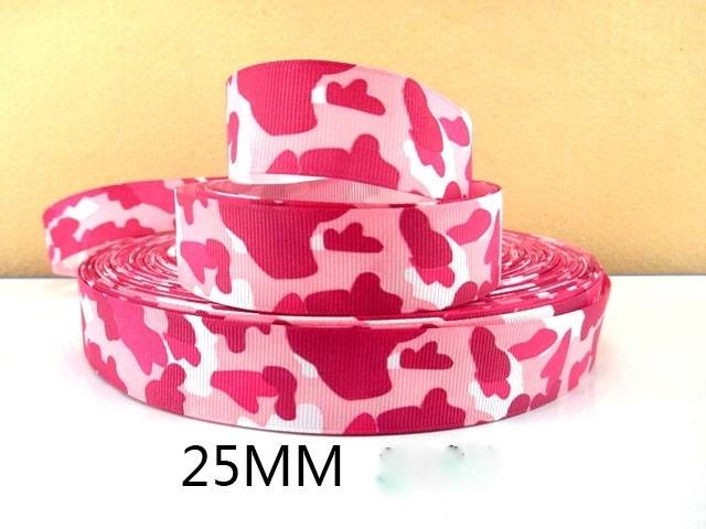 Excellent 1 Metre Pink Camouflage Ribbon Size Inch Bows Headbands Birthday Funny Birthday Cards Online Overcheapnameinfo