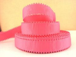 2 METRE RED WAVE EDGE GROSGRAIN RIBBON SIZE 7//8 BOWS HEADBANDS HAIR CAKE